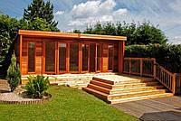 Летний домик из дерева 3,5 х 6 м (лиственница)