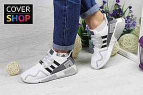 Кроссовки беговые женские Adidas Equipment adv 91-17, материал - сетка, белые