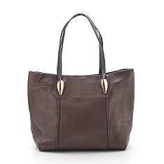 Женская сумка Clutches экокожа коричневая