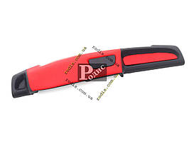 Накладка на торпеду ВАЗ 2108, 2109, 21099 (высокая) (красно-черная) «AutoElement» - Накладка на панель