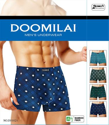 Мужские трусы боксеры Doomilai D01021, фото 2