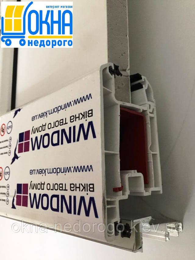Металлопластиковая входная дверь в профиле Windom