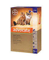 Капли Адвокат® (для котов и кошек от 4 до 8 кг), 1 пипетка 0,8мл