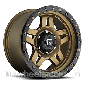 FUEL ANZA Matte Bronze with Black Ring