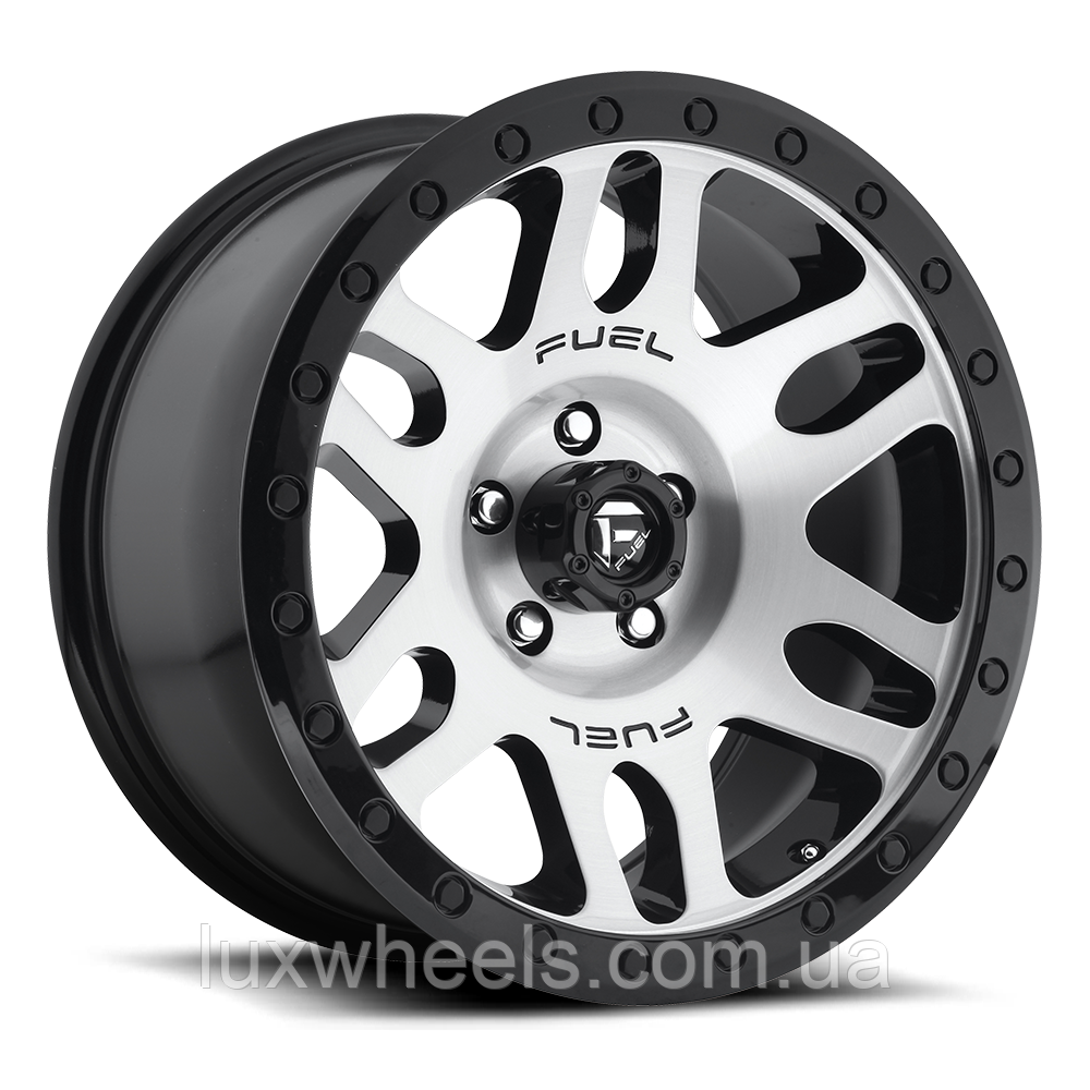 FUEL RECOIL Black with Gloss Black Windows and Gloss Black Ring
