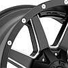 FUEL MAVERICK 1PC Matte Black with Milled Accents, фото 2