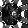 FUEL MAVERICK 1PC Matte Black with Milled Accents, фото 3