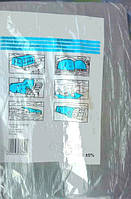 Тент ламинированный GREY с кольцами (3х4 м, 100 г/м²)