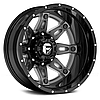 FUEL HOSTAGE II DUALLIE 2PC Gloss Black with Antracite Center, фото 2