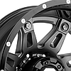 FUEL HOSTAGE II DUALLIE 2PC Gloss Black with Antracite Center, фото 3