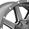FUEL MAVERICK 1PC Gunmetal with Milled Accents, фото 2