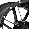 FUEL MAVERICK 1PC Matte Black with Machined Face, фото 2
