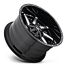 FUEL MOAB Gloss Black with Milled Face, фото 2