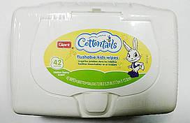Сухие салфетки для малышей Gian Cottontails 42 шт в упаковке.