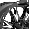 FUEL THROTTLE Black with Milled Accents, фото 2
