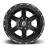 FUEL BRAWLER Black with Milled Accents, фото 3