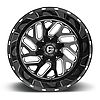 FUEL TRITON Black with Milled Accents, фото 3