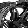 FUEL LETHAL Gloss Black with Milled Accents, фото 2