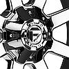 FUEL MAVERICK 2PC Black with Chrome Face, фото 3