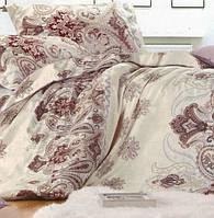 Двуспальное постельное белье с простыней на резинке 160/200/34 Авантаж, Сатин