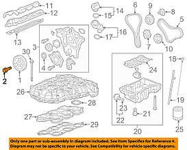 Болт крепления шкива (демпфера) коленвала M14 X 48 GM 0614969 11519514 Z32SE OPEL ANTARA & CHEVROLET CAPTIVA