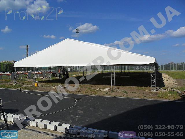 ангар, временное хранилище, шатёр 30х15 метров, павильон
