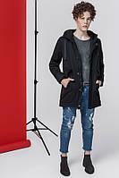 Куртка мужская весенняя черная демисезонная размеры с 46 по 54