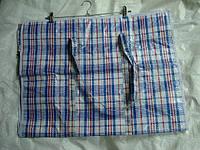 Хозяйственная сумка баул из полипропилена клетка №4