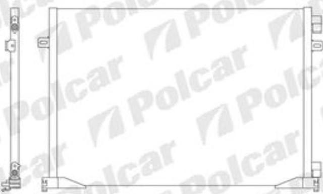 Радиатор кондиционера 6027K83X(93857127) Рено Трафик