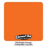 Краска для татуировочных работ  Eternal ink.Bright Orange 1/2 oz, фото 1