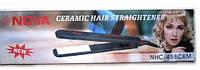 Плойка выпрямитель для волос Nova 488