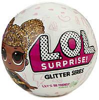 Игровой набор с куклой L.O.L. Surprise Glitter SeriesЛол блестящая серияНевероятный сюрприз оригинал