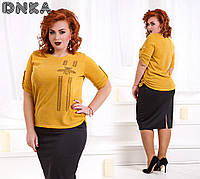 Модная женская туника 4 цвета