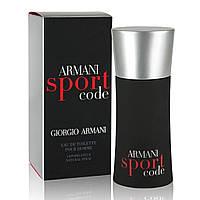 Оригинал Giorgio Armani Code Sport 75ml edt (мужественный, динамичный, стильный, свежий)