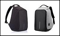 Рюкзак Bobby bag 1 антивор (black, grey)