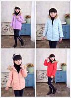 Демисезонная куртка на девочек. Размеры 120-150., фото 1
