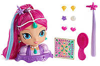 Fisher-Price Шиммер и Шайн манекен для причесок стайлинга Shimmer Shine Sparkle Style Shimmer Playset, фото 1