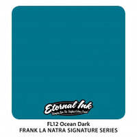 Краска для татуировочных работ Eternal  ink. Ocean Dark - Frank La Natra 1/2 oz