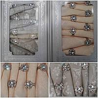 Праздничный набор - скатерть с салфетками и кольцами, плотный атлас, скат. 150х220 см., салф. 45х45см, 720/395