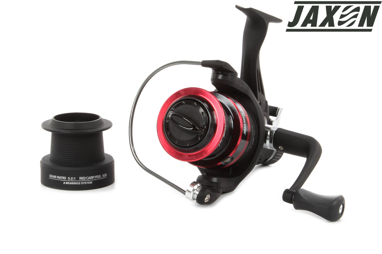 Катушка JAXON Red Carp FRXL 600 c байтраннером KJ-RCA600