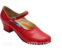 На опт будет скидка. Туфли для народных танцев, блок каблук. красные, белые или черные