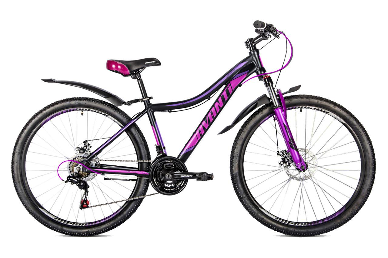 """Горный велосипед AVANTI CALYPSO 26"""" Черный/Фиолетовый"""
