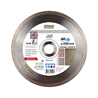 Алмазный диск Distar 1A1R 200 x 1,7 x 8,5 x 25,4 Bestseller Ceramic Granite 3D (11320138015), фото 1