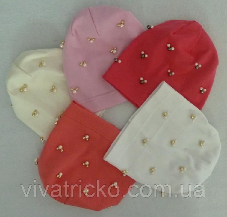 Шапка для девочек 3-8 лет, разные цвета