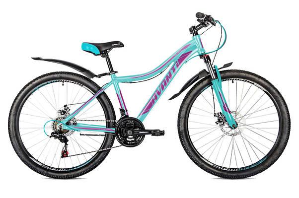 """Горный велосипед AVANTI CALYPSO 26"""" 15""""  Бирюзовый / Фиолетовый"""