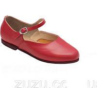 На опт будет скидка. Туфли для народных танцев красные или черные