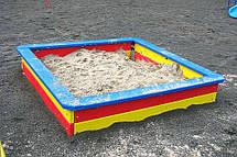 Детская деревянная песочница малая, фото 2