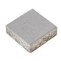 Тротуарная плитка Брусчатка 400x400x60 мм серая