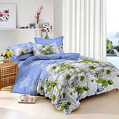 Семейный комплект постельного белья сатин (9225) TM KRISPOL Украина