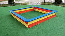 Детская деревянная песочница средняя, фото 2